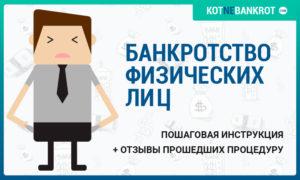 Банкротство физических лиц инструкция