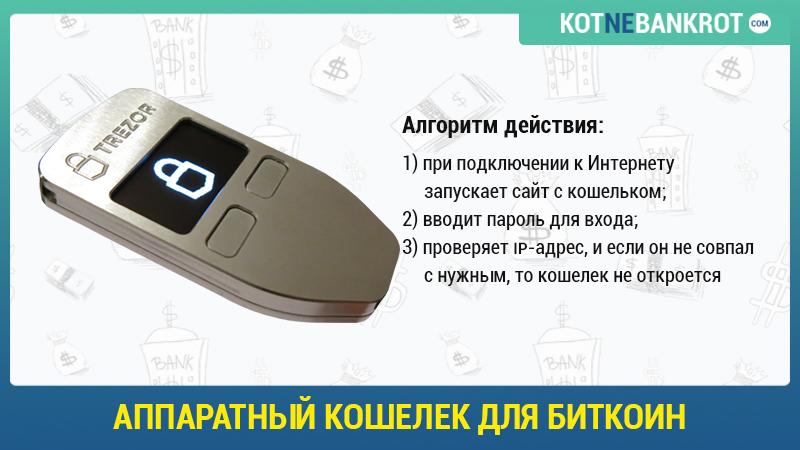 Аппаратный кошелек для Биткоин