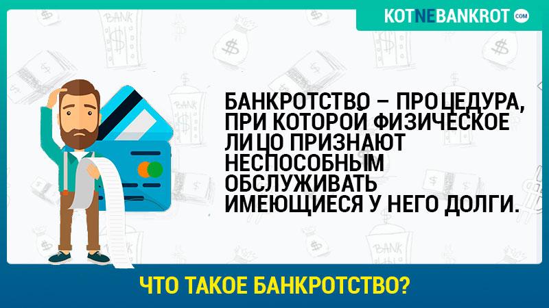 Определение банкротства